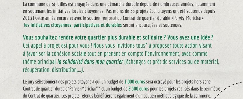 Appel a` projets (Flyer) fr