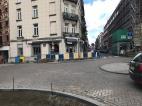 Aménagement oreille de trottoir - rue de Bosnie