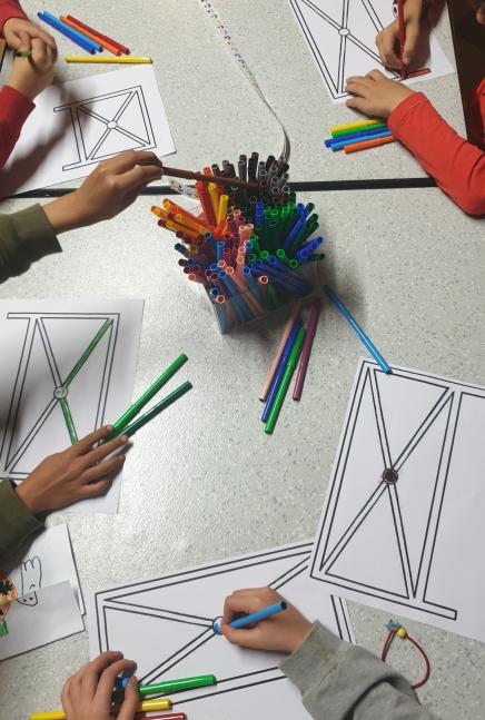 Signalétique - atelier préparatoire - Ecole communale JJ Michel